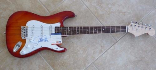 David Lee Roth Van Halen Signed Autographed Electric Guitar PSA Certified