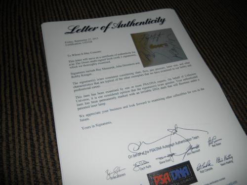 The Doors Signed Autographed Book All 3 Manzerek Krieger Densmore PSA Certified