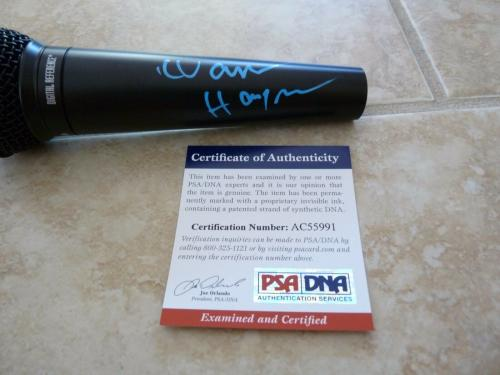 Warren Haynes Gov't Mule Signed Autographed Microphone PSA Certified