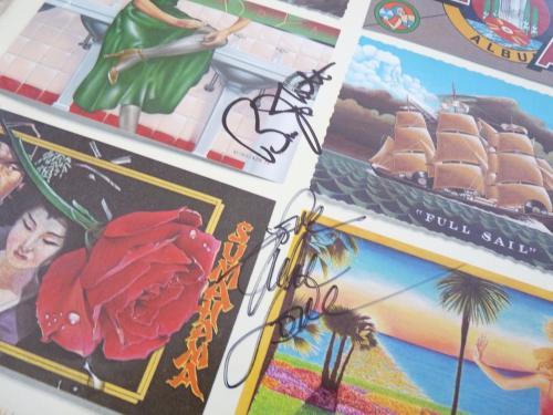 Beach Boys Mike Love & Bruce Johnston Autographed Signed LP Album PSA Guaranteed