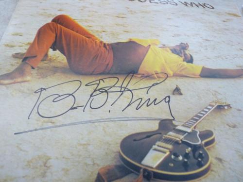 BB King Blues IP Signed Autographed Guess Who Album  LP PSA Certified