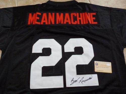 Burt Reynolds Longest Yard Mean Machine Signed Autographed Jersey Steiner COA #1