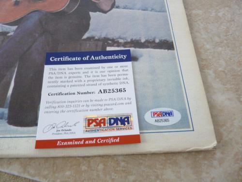 Stephen Stills CSN Solo Signed Autographed LP PSA Certified #2