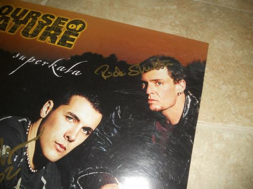 Course Of Nature Band Signed Autographed Promo Poster PSA Guaranteed 18x24 #2