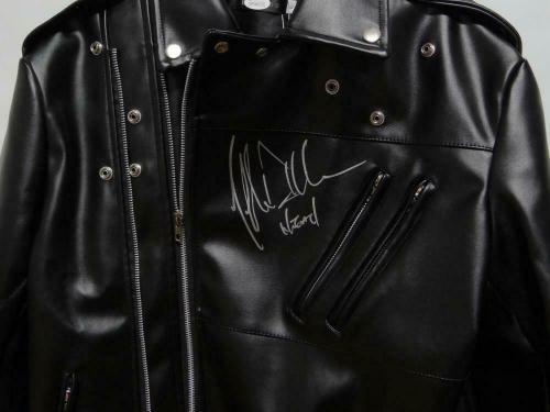 """Jeffrey Dean Morgan Autographed The Walking Dead """"Negan"""" Jacket- JSA W"""