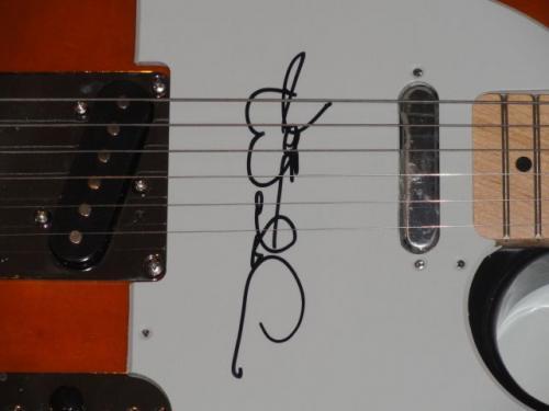 Joe Walsh Signed Sunburst Electric Guitar The Eagles Superstar Jsa Loa