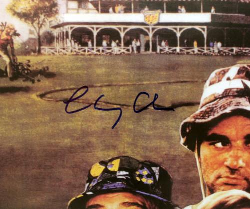 Chevy Chase Caddyshack Signed 24x36 Movie Poster BAS Witnessed