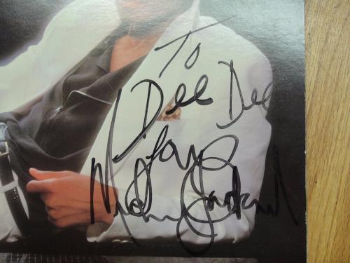 Michael Jackson Thriller Signed Album Psa/dna Certified Authentic Autograph Rare