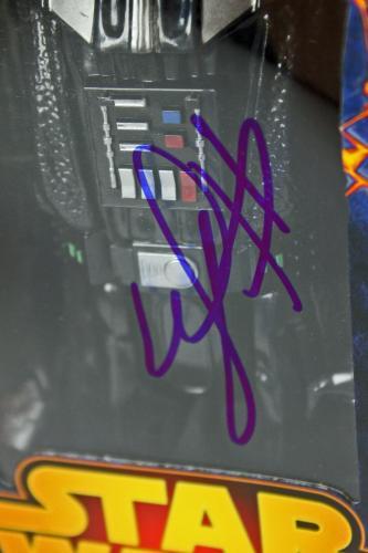 Hayden Christensen Star Wars Signed Darth Vader Action Figure PSA/DNA #W16652