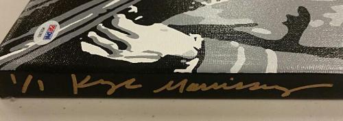 DICK VAN DYKE Signed 16x20 Original Painting Canvas #8 Custom 1/1 PSA/DNA COA