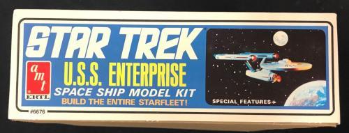 William Shatner Signed Autographed Original U.S.S. Enterpirse Model Kit JSA