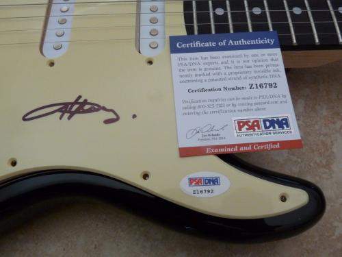 Angus Young AC/DC Signed Autographed Electric Guitar PSA Certified
