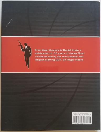 George Lazenby Signed 007 50 Years Of James Bond Hard Cover Book BAS Beckett COA