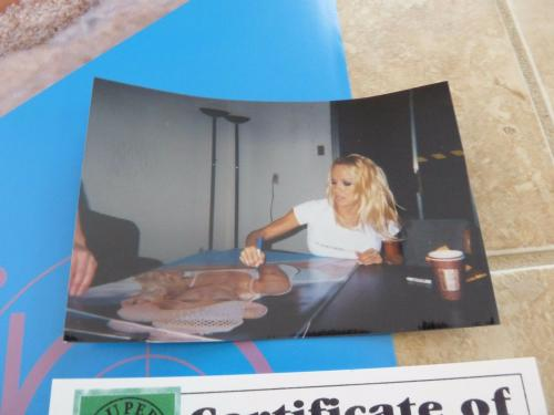 Pamela Anderson Autographed Signed 23x35 Vip Poster #1 Psa Or Beckett Guaranteed