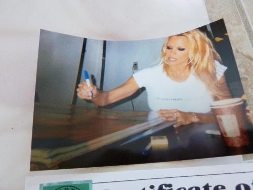 Pamela Anderson Autographed Signed 23x35 Vip Poster #2 Psa Or Beckett Guaranteed