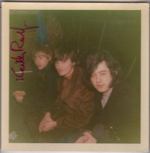 Psa/dna Yardbirds Keith Relf Autographed-signed Photo With Jimmy Page 84035150