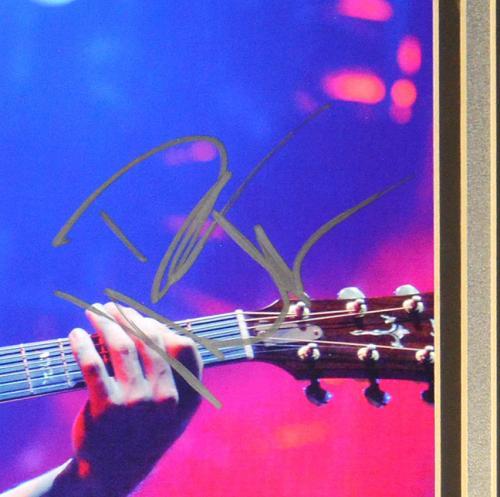 Dave Matthews Autographed Signed Framed 27x24 Photo UACC RD COA AFTAL