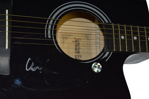 Willie Nelson Autographed Signed Acoustic Guitar AFTAL UACC RD COA