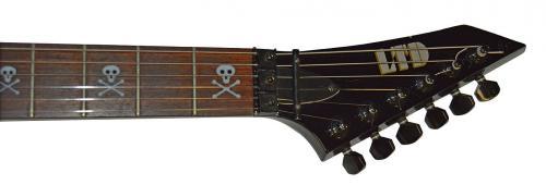 Kirk Hammett Un-Signed LTD ESP KH-202 w Skull Inlays EMG-HZ Guitar