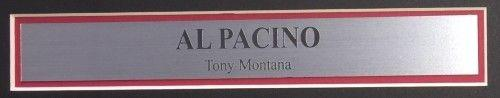 Al Pacino Signed Framed Scarface 16x20 Say Hello Photo Beckett BAS