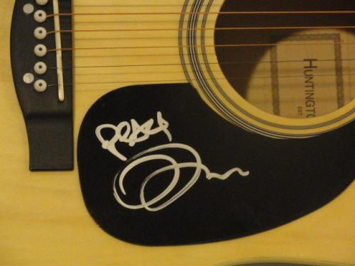 Tim Reynolds Signed Natural Acoustic Guitar Dave Matthews Band Proof