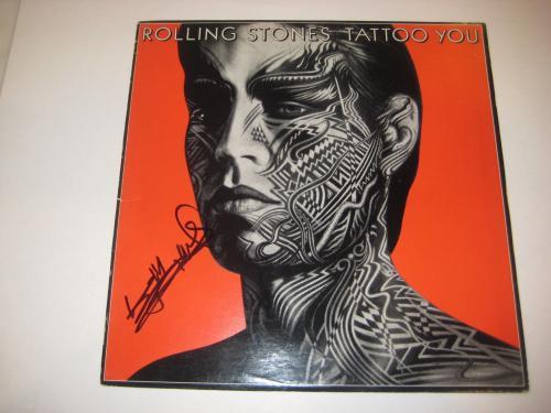 KEITH RICHARDS (Rolling Stones) Signed TATTOO YOU Album w/ PSA LOA
