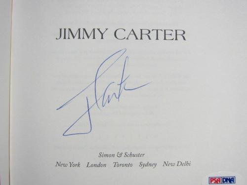 President Jimmy Carter signed Book A Call to Action 1st Printing POTUS PSA/DNA