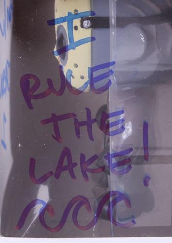 ARI LEHMAN SIGNED I RULE THE LAKE JASON 1 FRIDAY THE 13th FUNKO POP VINYL FIGURE