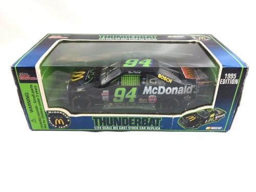 Val Kilmer Signed 1995  #94 Thunderbat McDonald's 1/24 Diecast Autograph COA