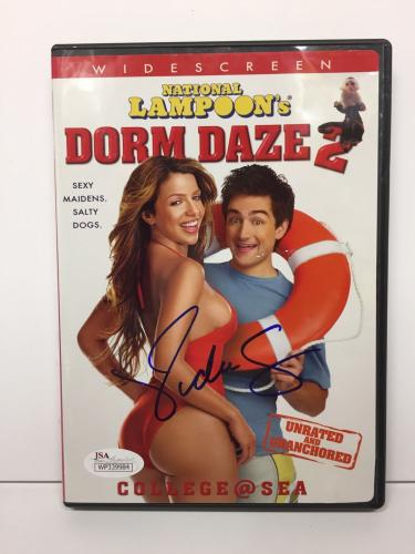 Vida Guerra Signed *National Lampoon's Dorm Daze 2 DVD Movie JSA WP339984
