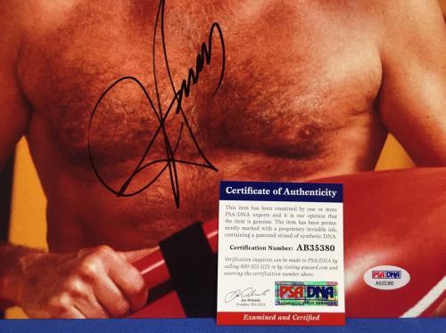 David Hasselhoff Signed Baywatch 11x14 Photo PSA AB35380
