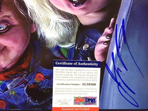 Jennifer Tilly Signed Chucky 11x14 Photo *Bride Of Chucky PSA AC59366