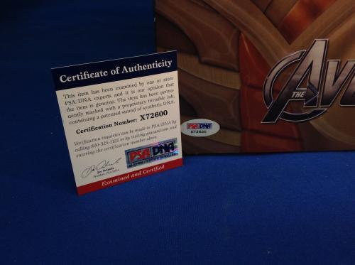 "Stan Lee Autographed Signed Marvel Avengers Iron Man 19"" Figure PSA/DNA"