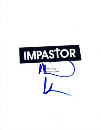 Michael Rosenbaum Signed Autographed IMPASTOR Pilot Episode Script COA VD