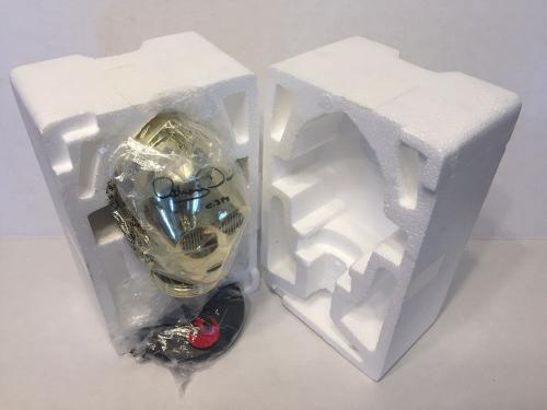 Anthony Daniels Signed Riddell C-3po Mini Helmet Bust Star Wars Beckett Bas