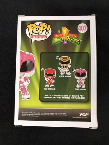 Amy Jo Johnson Signed Mighty Morphin Power Rangers Pink Hot Topic Funko Pop