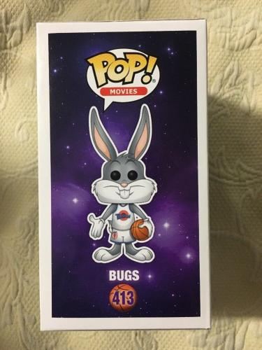Billy West Signed Autographed Bugs Bunny Space Jam Funko Pop JSA COA 7