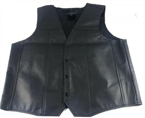 Norman Reedus Walking Dead Faux Leather Vest Autographed Signed PSA/DNA COA