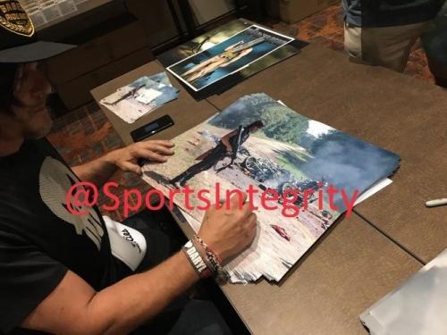 Norman Reedus Signed Framed The Walking Dead Daryl Dixon Carnage 16x20 Photo JSA
