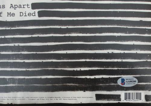 Roger Waters Pink Floyd Signed New Album W/Beckett LOA AA00200 Is This The Life