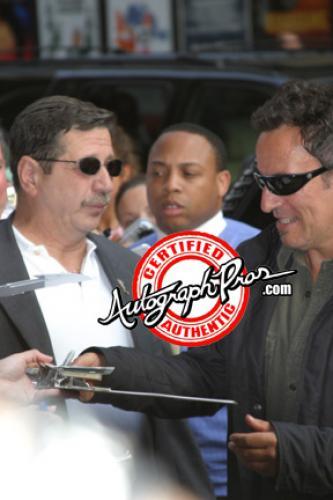 Bruce Springsteen Signed Cover Me Album LP cd Guitar w Sketch AFTAL UACC RD RACC