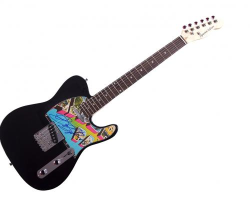 Bruce Springsteen Autographed Asbury Park NJ Album LP cd Guitar AFTAL UACC RD