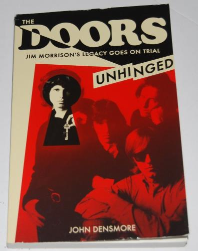 JOHN DENSMORE signed (THE DOORS UNHINGED) PAPERBACK BOOK W/COA