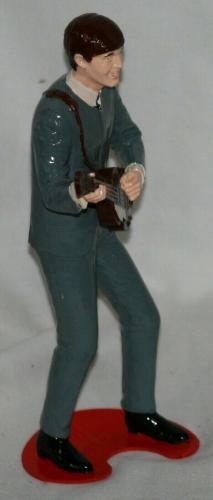 1964 Paul McCartney, Beatles, Revell Model Figure Assembled, EX Condition