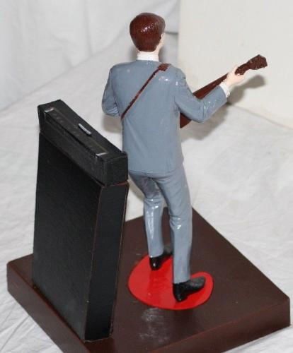 1964 Paul McCartney, Beatles, Revell Model Figure Assembled, EX Condition