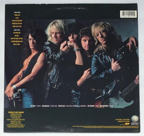 Steven Tyler Signed Aerosmith Pump Record Album Psa Coa Ad48292