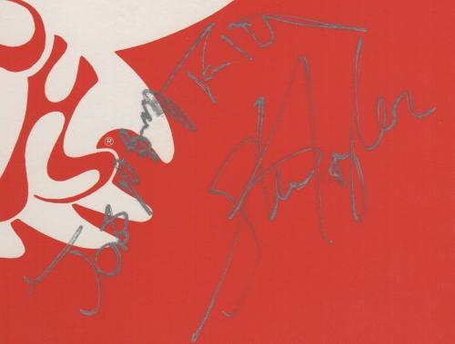 Aerosmith X5 Steven Tyler Joe Perry Brad Tom & Joey Signed Greatest Hits Psa Loa