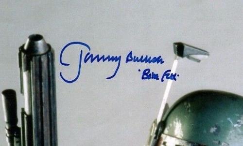 "JEREMY BULLOCH Signed STAR WARS ""Boba Fett"" 11x14 Photo BECKETT BAS #C83405"