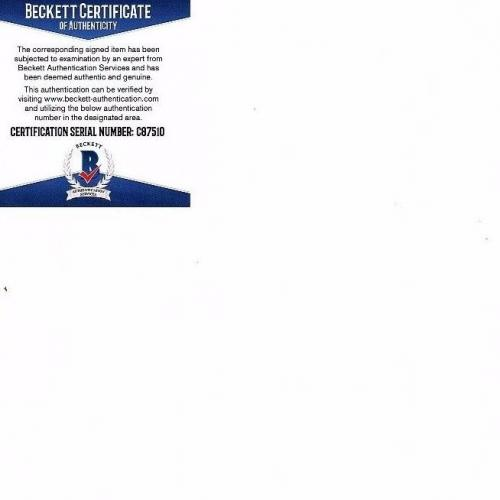 KRIST NOVOSELIC & DAN PETERS Signed NIRVANA 11x14 Photo Beckett BAS #C87510