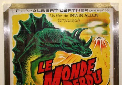 1960 The Lost World – Le Monde Perdu Movie Film Poster